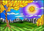 vitral-paisaje-por-Zagory-colores-degradados by Creaciones-Jean