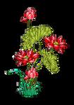 Flor-aves-32-colores-degradados-filtros-inkscape by Creaciones-Jean