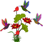 Aves-32-colores-planos by Creaciones-Jean
