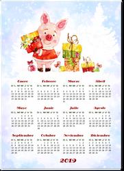 Calendario-2019-01.1 by Creaciones-Jean