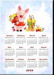Calendario-2019-01.2 by Creaciones-Jean