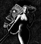 Eternal Darkness Alexandra Roivas inks by DougSQ