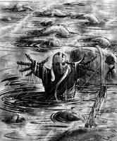 Friday the 13th  Jason Voorhees Hugs by DougSQ