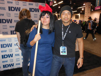 WonderCon 2018 Kiki's Delivery Service by DougSQ