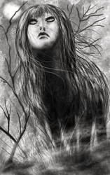 Scary Stories to Tell in the Dark Wolf Girl by DougSQ