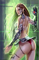 Witchblade in a dress by DougSQ