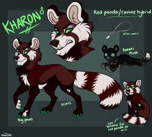 kharon feral reference 2018 by AethonGryphon