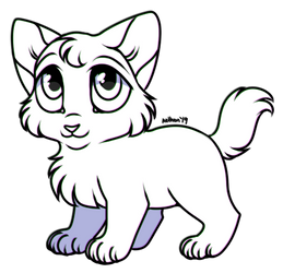 Free To Use Chibi Kitten by AethonGryphon
