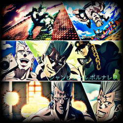 Collage 02 - Jean Pierre Polnareff by SunsetShimmer46413