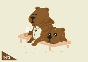 bear in bear by ndikol