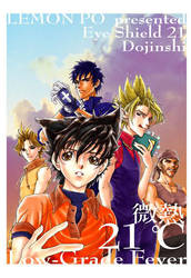 Hiruma X Sena Doujinshi cover 03 by LemonPo