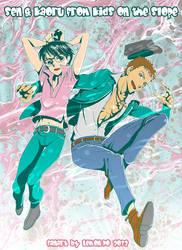 Sentarou and Kaoru JUMP!! by LemonPo