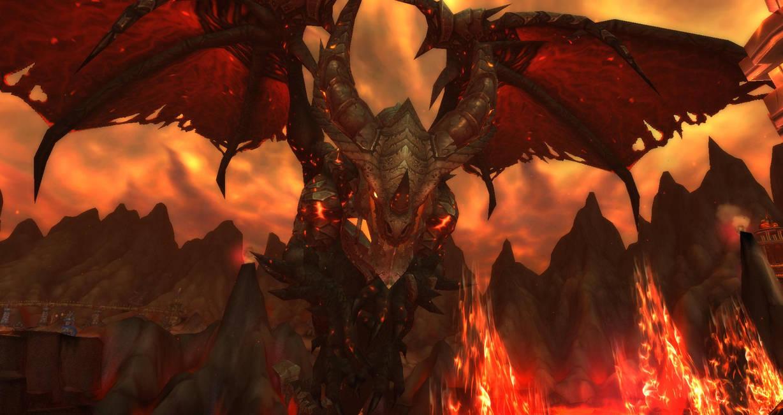 Wow Mount Hyjal Deathwing By Byorrsingyr On Deviantart