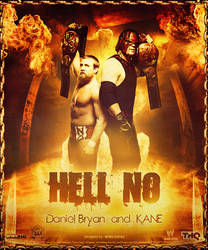 TEAM HELL NO ~ Poster by MhMd-Batista
