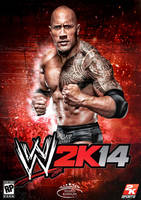 WWE 2K14 Cover feat The Rock by MhMd-Batista