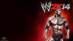 The Rock ~ WWE 2K14 HD Wallpaper by MhMd-Batista