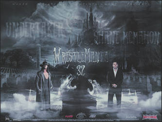WrestleMania 32 ~ Undertaker vs Shane! Wallpaper by MhMd-Batista