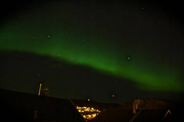 Aurora Borealis - Bodoe, Nordland, Norway 20140220 by FiXato