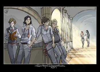 Hogwarts - Colors by Robbertopoli