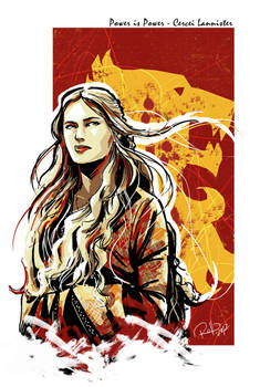 Cercei Lannister by Robbertopoli