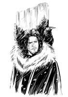Jon Snow by Robbertopoli