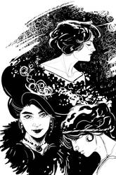 Vintage Woman by Robbertopoli
