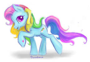 Rainbowdash by Turonie
