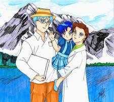 Mizuno Family by SailorMiha