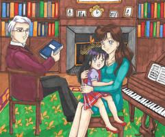 Hino Family by SailorMiha