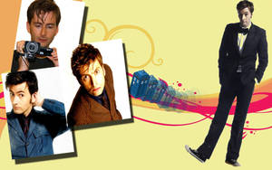 David Tennant Background by Anime-Reality