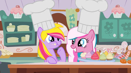 Triple Treat and Cotton Candy by Jolteonlove33