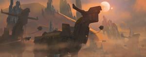 Wandering Behemoths by 2wenty