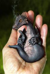 Dragon Whelp by oilcorner