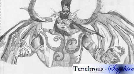 Illidan Stormrage - Betrayer by Tenebrous-Sapphire