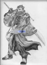 Auron - This is for the Fallen by Tenebrous-Sapphire