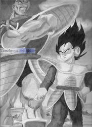 Vegeta and Nappa by Tenebrous-Sapphire