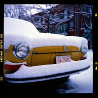 First Snow and VW by cameraflou