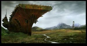 Post Apocalypse concept by pixini