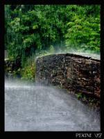 Hard rain by pixini