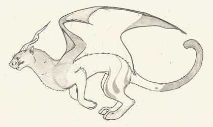 Puma Dragon by MoodDragon