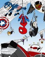 Team Spiderman by artesano-mii