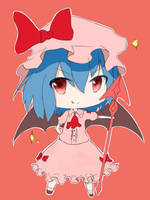 Remilia Scarlet - i'll take over the world! by kareyare