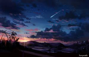 Meet the sky twilight by kareyare