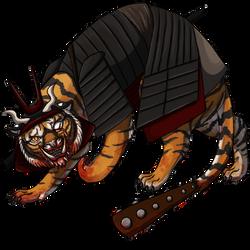 Tiger Yokai by KitsunariADMIN