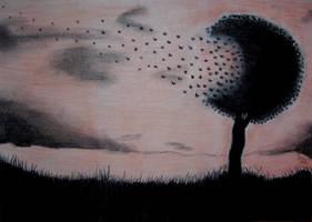 Butterfly tree *-* by Sissyke