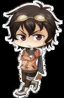 P.commission for HatoriKumiko by Abby-desu