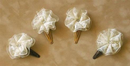 Jenn's Wedding: Hair Items 1 by GraceStudios