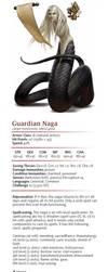Guardian Naga - CR 10 by dizman