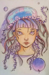 Jellyfish Maiden by Mirving