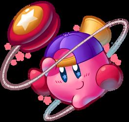 Yo-yo Kirby by Torkirby